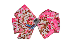 Cowgirl Horse Bow (Animal) - Dream Lily Designs