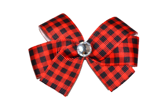 Buffalo Plaid Bow (Misc Patterns) - Dream Lily Designs