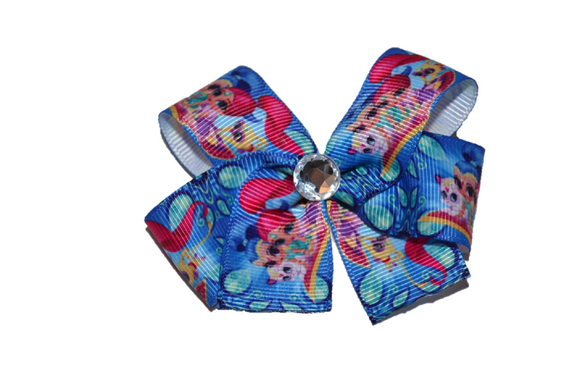 Shimmer and Shine Blue Bow (Misc Characters) - Dream Lily Designs
