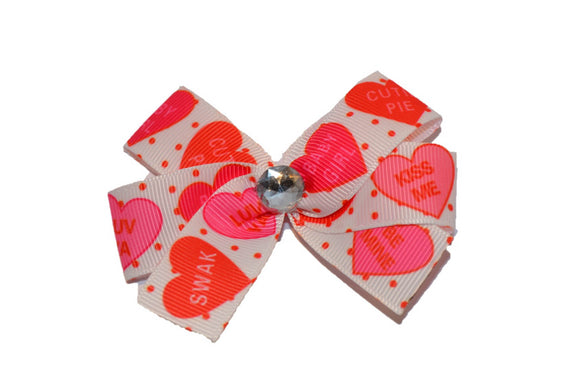Valentine Heart Bow (Holidays) - Dream Lily Designs