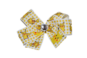 Pokemon Pikachu Yellow Bow (Misc Characters) - Dream Lily Designs