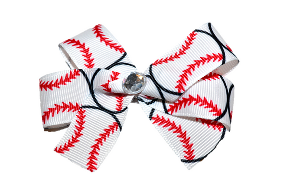 Big Baseball Bow (Sports)