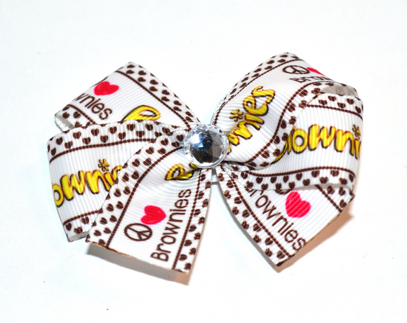 Brownies Bow (Girl Scouts) - Dream Lily Designs