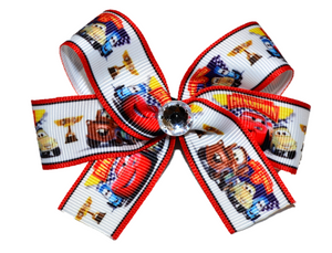 Cars Lightning McQueen Bow (Disney) - Dream Lily Designs