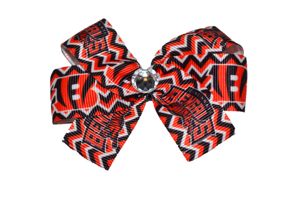 Cincinnati Bengals Hair Bow (Sports Teams) - Dream Lily Designs