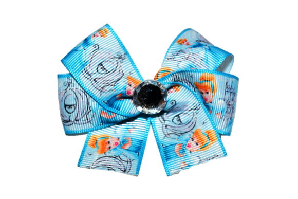 Cinderella Blue Princess Bow (Disney)
