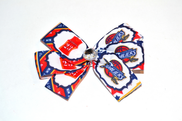 Cleveland Cavaliers Bow (Sports Teams) - Dream Lily Designs