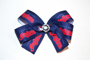 Cleveland Indians Bow (Sports Teams) - Dream Lily Designs