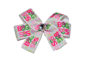 Big Sister Flower Bow (Sister) - Dream Lily Designs