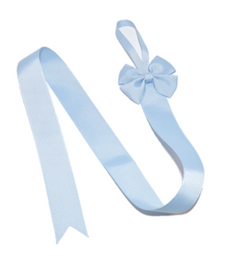 Light Blue Hair Bow Holder - Dream Lily Designs