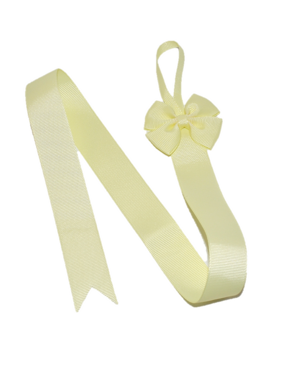 Yellow Hair Bow Holder - Dream Lily Designs