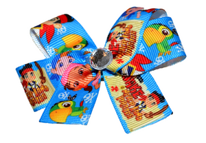 Jake and the Neverland Pirates Bow (Disney) - Dream Lily Designs