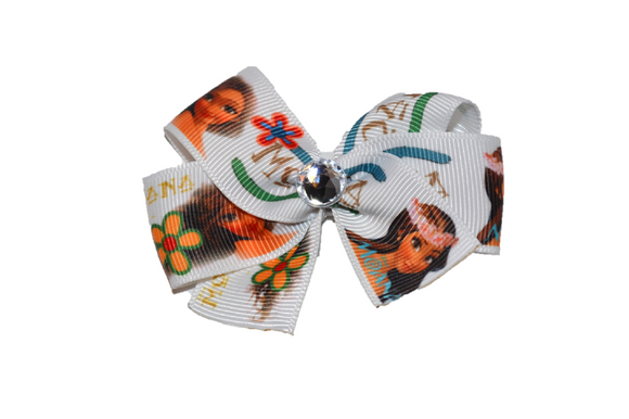 Moana White Flower Princess Bow (Disney)