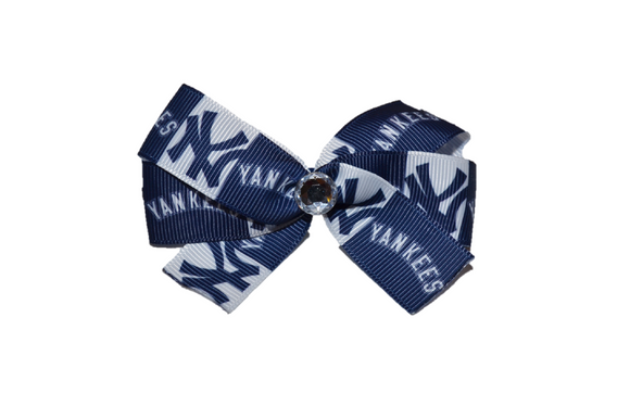 New York Yankees Bow (Sports Teams) - Dream Lily Designs