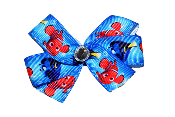 Finding Nemo Dory Bow (Disney) - Dream Lily Designs