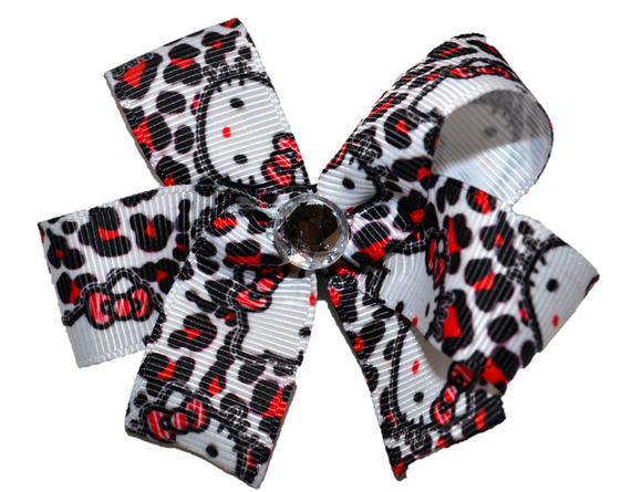 Hello Kitty Cheetah Bow (Misc Characters) - Dream Lily Designs