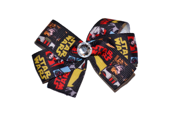 Star Wars Character Bow (Disney) - Dream Lily Designs