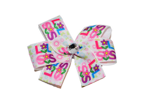 Little Sister Flower Bow (Sister) - Dream Lily Designs