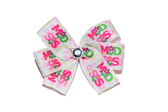 Middle Sister Flower Bow (Sister) - Dream Lily Designs