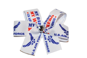 Air Force Bow (Service) - Dream Lily Designs
