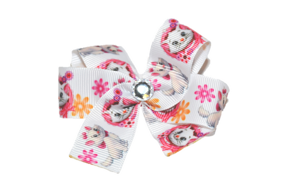 Marie Aristocats Bow (Disney) - Dream Lily Designs