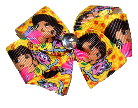 Dora Yellow Bow (Misc Characters) - Dream Lily Designs