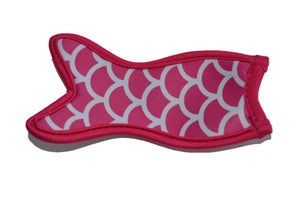 Mermaid Tail Popsicle Holder - Hot Pink - Dream Lily Designs