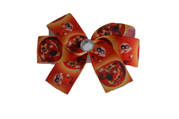 Orange Movie Incredibles Jack Jack Bow (Disney) - Dream Lily Designs