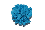 Bright Blue Lace Cutout Flower Hair Clip - Dream Lily Designs