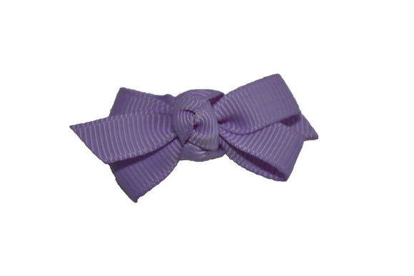 Knot Baby Snap Clip - Lavender - Dream Lily Designs