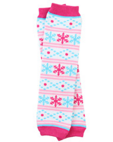 Plain and Patterned Leg Warmers