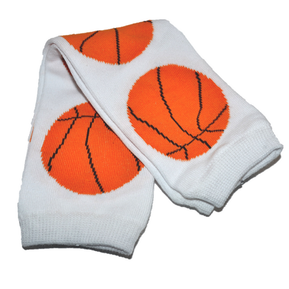 Basket Ball Leg Warmers - Dream Lily Designs