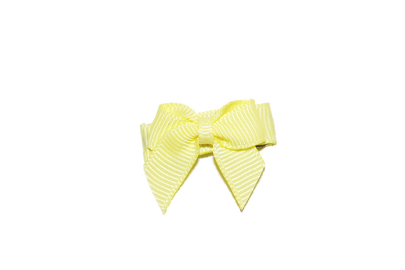 Yellow Baby Snap Clip - Dream Lily Designs