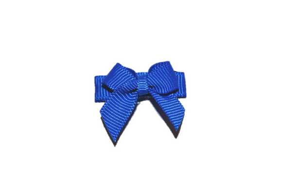 Royal Blue Baby Snap Clip