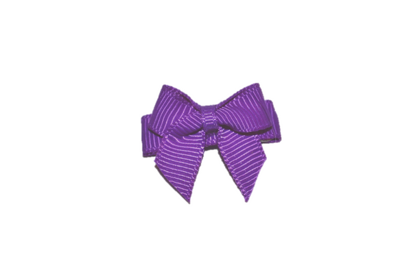 Purple Baby Snap Clip