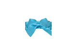 Bright Blue Satin Baby Snap Clip - Dream Lily Designs