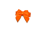 Orange Satin Baby Snap Clip - Dream Lily Designs