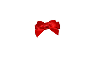 Red Satin Baby Snap Clip - Dream Lily Designs