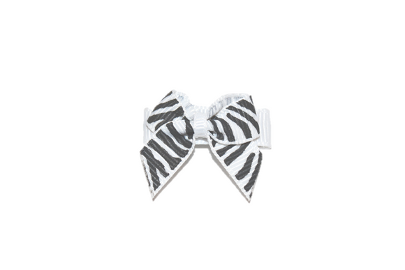 White Zebra Baby Snap Clip - Dream Lily Designs