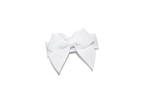 Baby Hair Bow Snap Clips