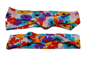 Colorful Flower Mommy and Me Headband