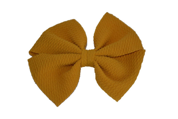 Mustard Yellow Nylon Fabric Pinwheel 4