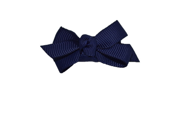 Knot Baby Snap Clip - Navy - Dream Lily Designs
