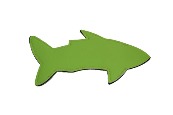 Shark Popsicle Holder - Neon Green - Dream Lily Designs