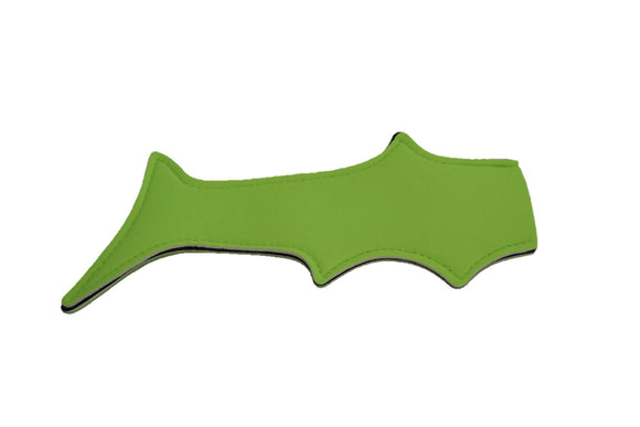 Shark Tail Popsicle Holder - Neon Green - Dream Lily Designs