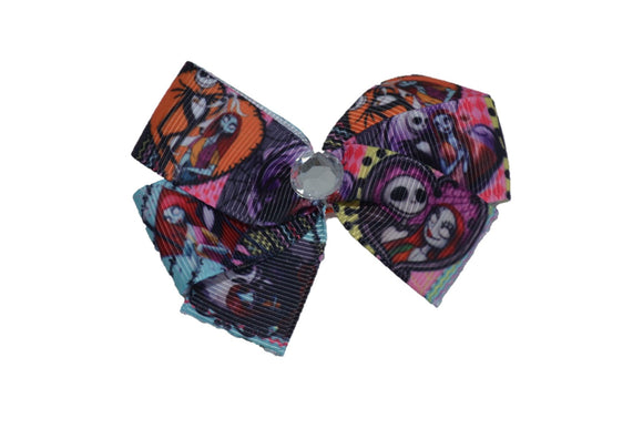 Nightmare Before Christmas Bow (Disney) - Dream Lily Designs