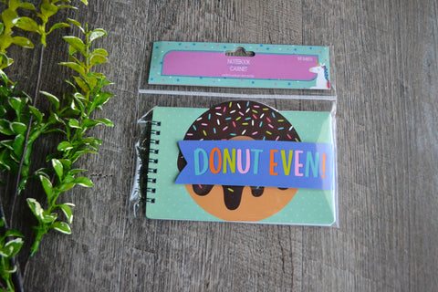 Notebook & Colorful Pen Set