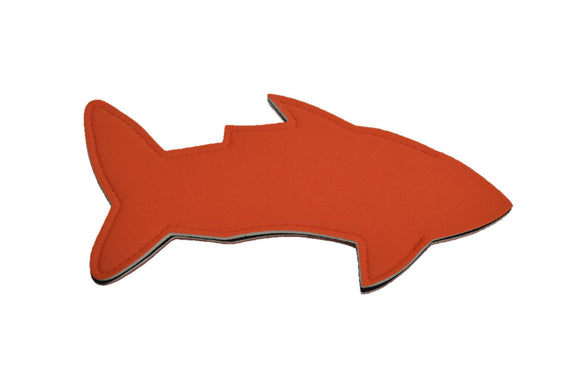 Shark Popsicle Holder - Orange - Dream Lily Designs