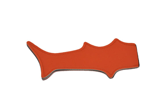 Shark Tail Popsicle Holder - Orange - Dream Lily Designs