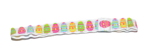 Easter Egg Patterned Elastic Headband - Dream Lily Designs